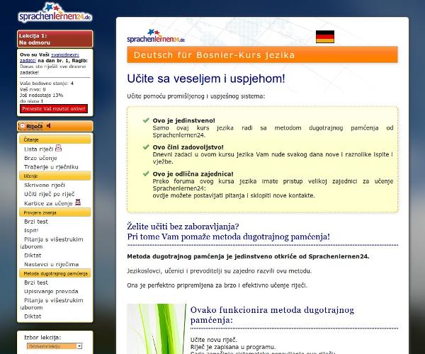Deutsch lernen für Bosnier...... 1