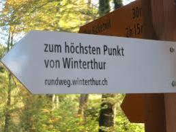 Höchster Punkt Winterthur