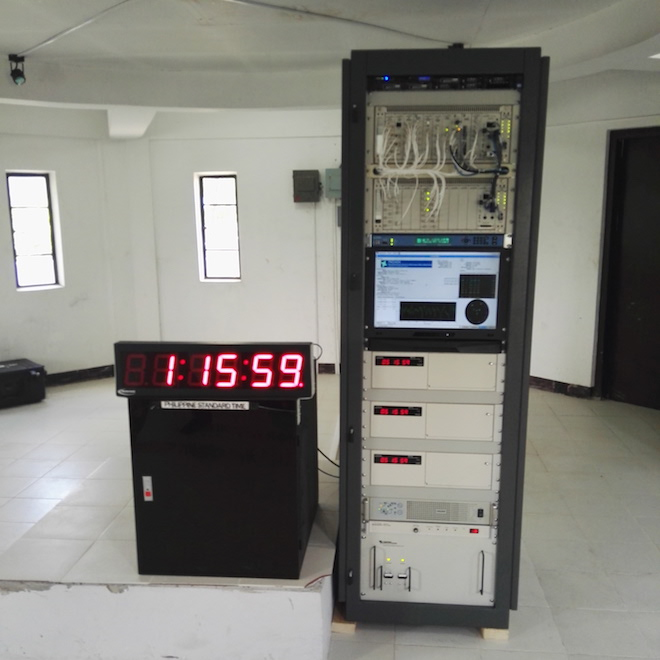 PHL weather agency finally acquires atomic clock