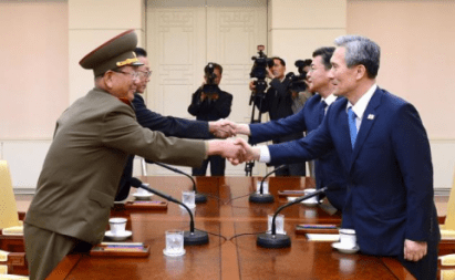 WHEW – North and South Korea diffuse tensions