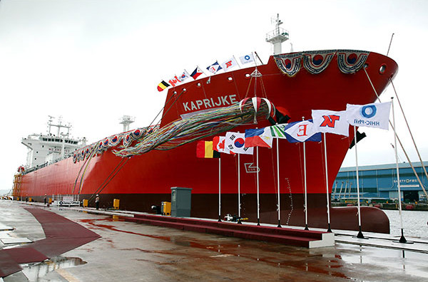 PROUDLY PHILIPPINE MADE – Hanjin reveals first locally-built LPG carrier