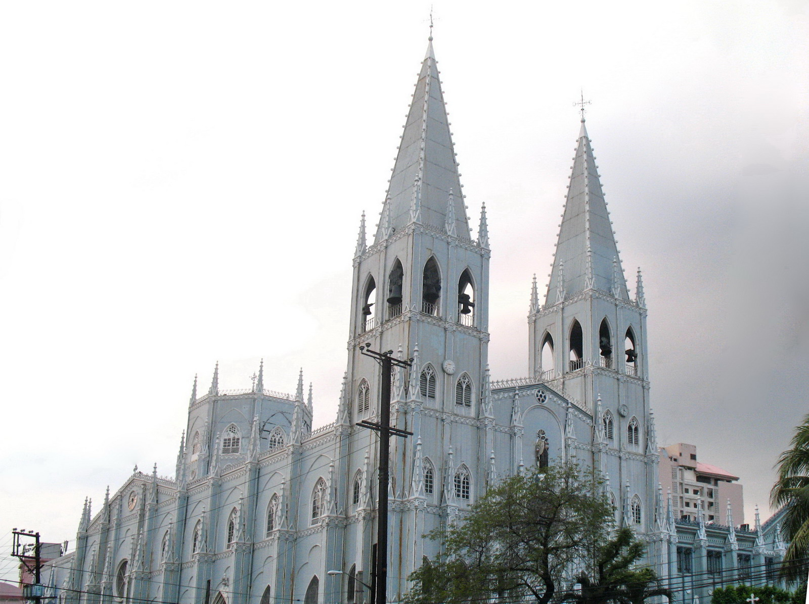 San Sebastian Church in Manila now a National Cultural Treasure