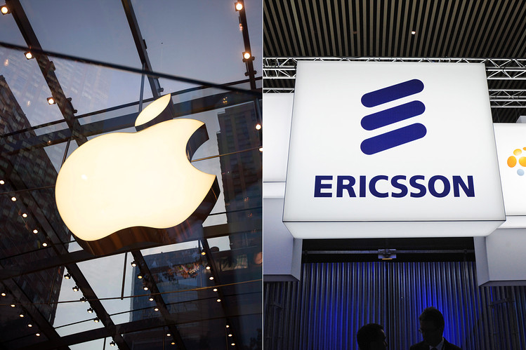 Ericsson and Apple sign patent deal, settle litigation