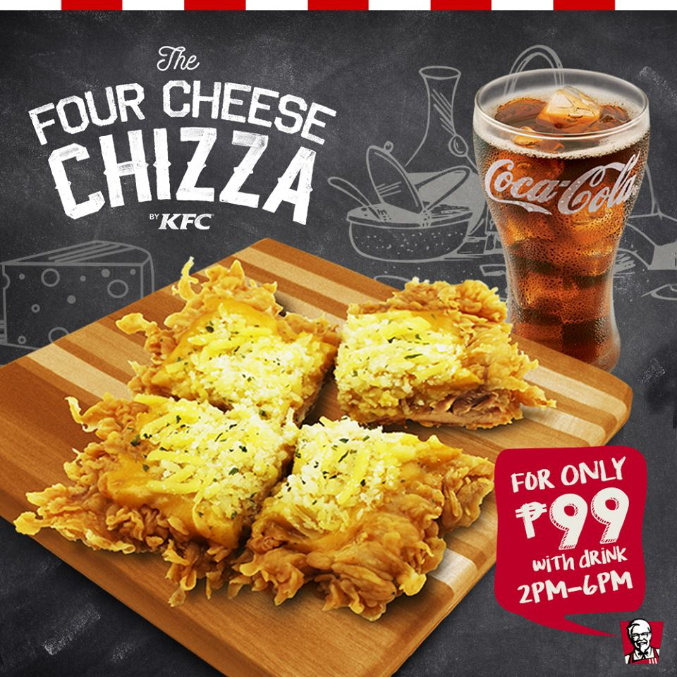 WHILE WE WERE BUSY – KFC Chizza rolls out beyond PH; Chizza back in menu with 3 more cheese!