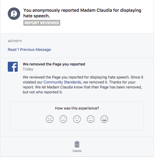 IN MEMORIAM – Madam Claudia, prominent anti-Duterte page, DELETED AGAIN