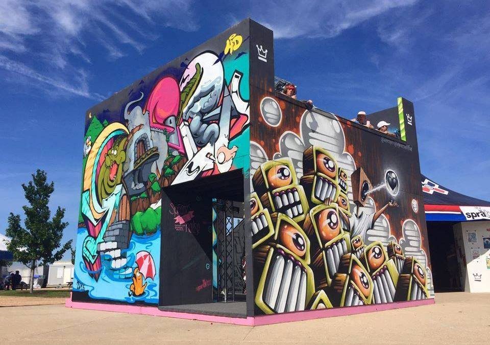 2016 X Games Mural House
