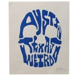 "Filosofi Boston ""Austin Texas Weirdo"" Print"