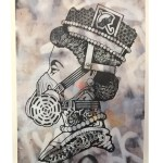"Jason Eatherly ""Queen Eli"" Print (Grey)"