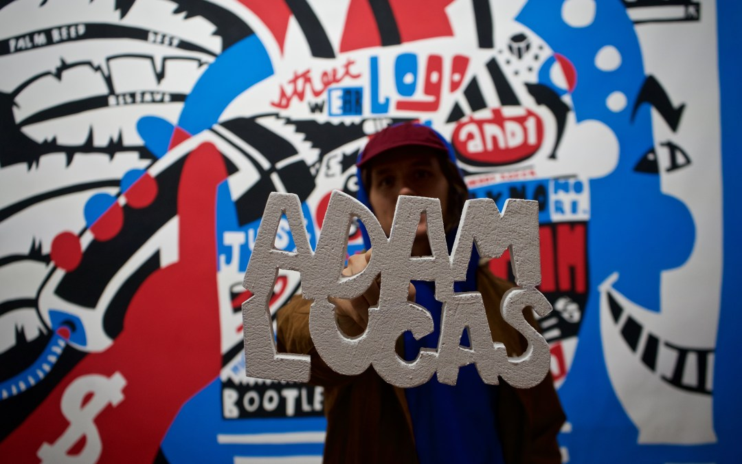 Adam Lucas AKA Hanksy Art Exhibit in New York City