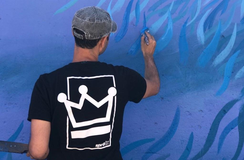 IPAF Mural Festival 2018 : Lucas Aoki