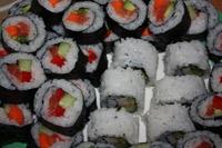 Maki i odwrócone maki - uramaki-zushi
