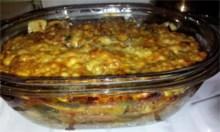 Lasagna po zapieczeniu