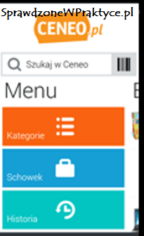 aplikacja CENEO