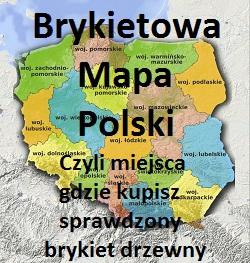 Brykietowa Mapa Polski – Sprawdź, Gdzie Kupisz Pewny i Sprawdzony Brykiet Kominkowy.