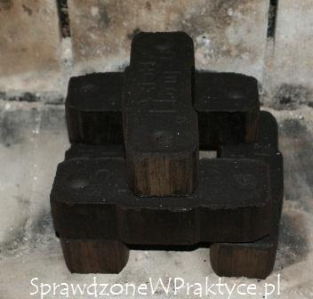 Brykiet z węgla brunatnego