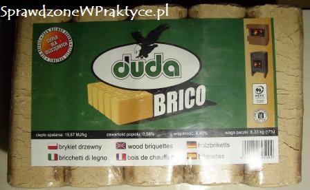 opakowanie brykietu z firmy DUDA