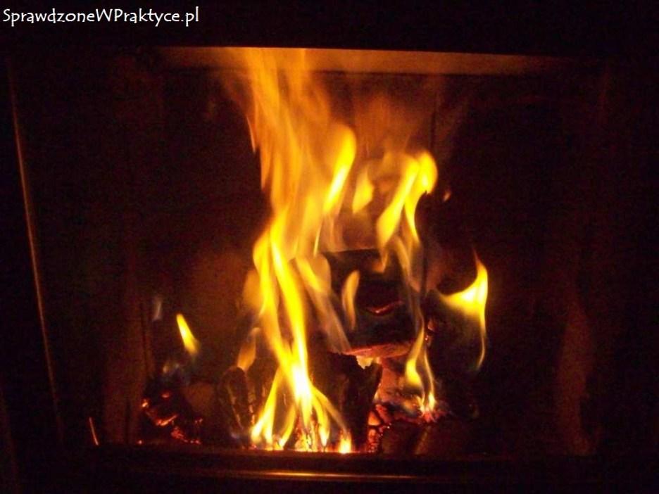 po godzinie od podłożenia ognia