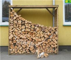 Regał/drewutnia na drewno