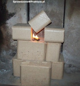 pierwszy płomień brykiet RUF