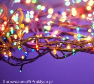 oświetlenie świąteczne LED-owe