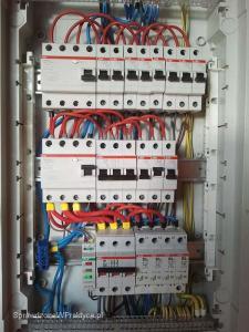 instalacja elektryczna w domu jednorodzinnym rozdzielnica