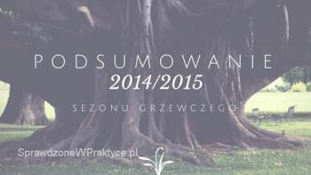 Podsumowanie Sezonu Grzewczego 2014/2015
