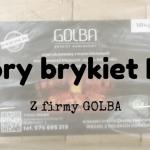 Firma GOLBA, brykiet RUF, dobry wybór na zimowe grzanie