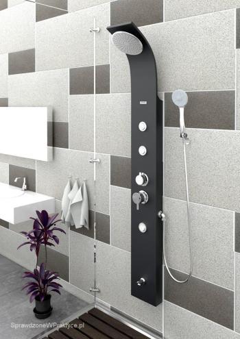 Panele natryskowe, zestawy prysznicowe, czyli urządzanie łazienki dla niezdecydowanych