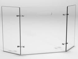 osłona kominka ze szkła