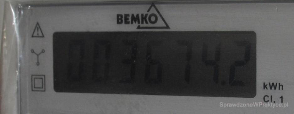 Licznik prądu ogrzewanie 18.01.2021