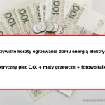 Ogrzewanie elektryczne + fotowoltaika – podsumowanie sezonu grzewczego 2020/2021.