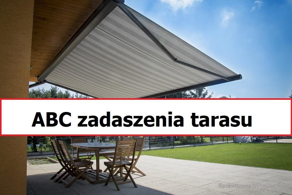 ABC zadaszenia tarasu