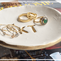DIY: Personalized Ring Dish