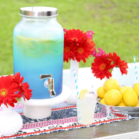 DIY: Ombré Drink Dispenser