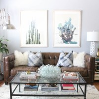 Living Room Transformation with Minted