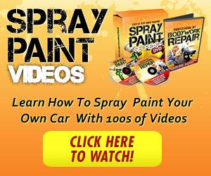 Spray Paint Secrets Video Banner