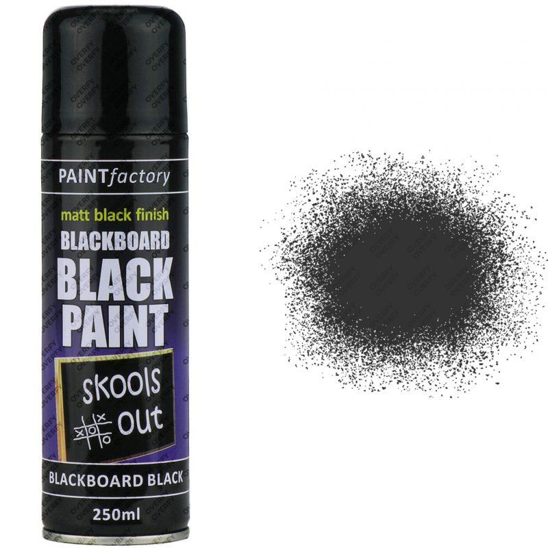 Black Chalkboard Spray Paint Matt 250ml