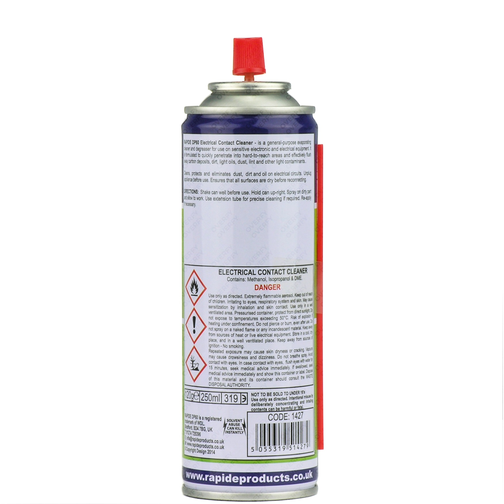 200ml Electrical Contact Cleaner Dirt Remover