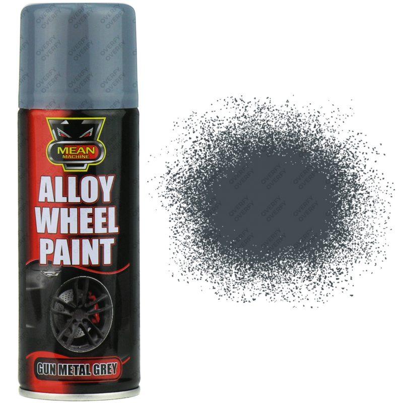 Gun Metal Grey Alloy Wheel Spray Paint Satin 200ml