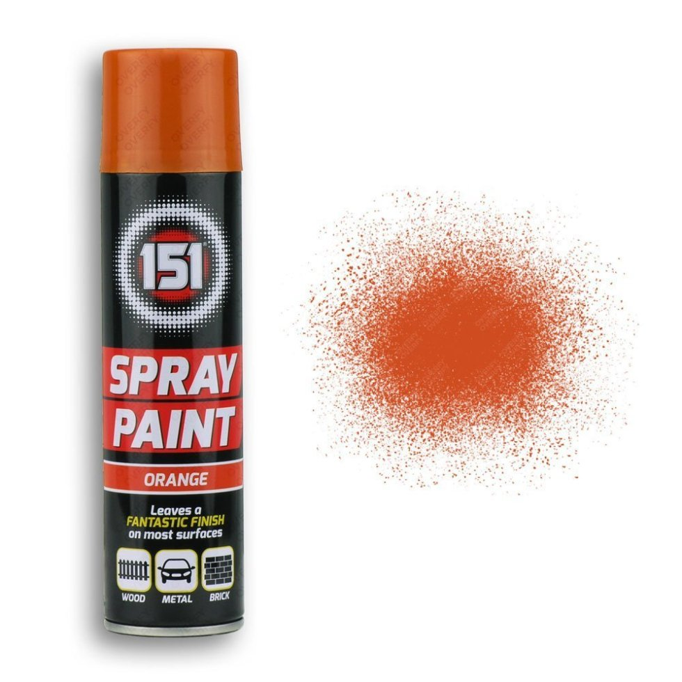 250ml-151-Orange-Gloss-Spray-Paint