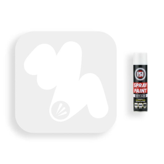 250ml-151-White-Gloss-Spray-Paint-Swatch