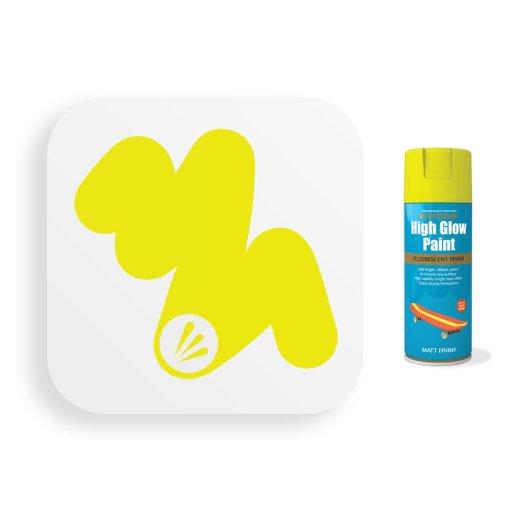 Neon-Yellow-Spray-Paint-Fluorescent-400ml