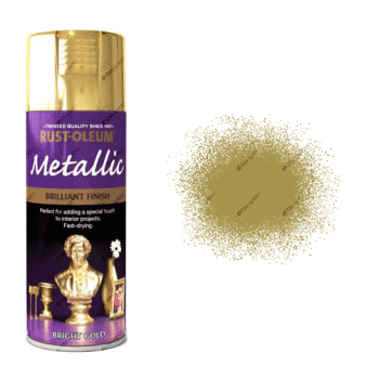 Rust-Oleum 400ml Metallic Bright Gold Spray Paint
