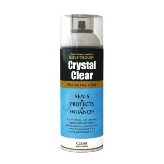 Rust-Oleum Crystal Clear Lacquer Top Coat Matt