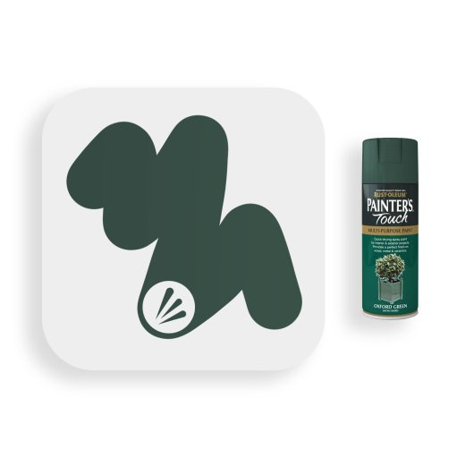Rust-Oleum-Oxford-Green-Satin-Spray-Paint-400ml-Painters-Touch-swatch