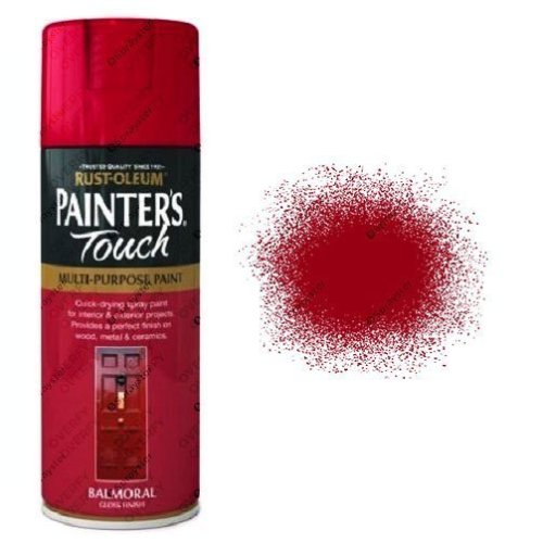 Rust-Oleum Painter's Touch Balmoral Red Spray Paint Gloss 400ml