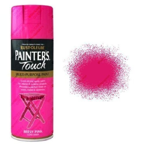 Rust-Oleum Painters Touch Berry Pink Spray Paint Gloss 400ml