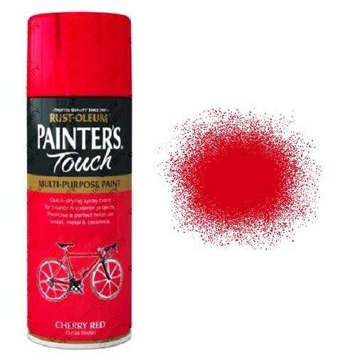 Rust-Oleum-Painter's-Touch-Cherry-Red-Spray-Paint-Gloss-400ml-