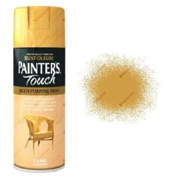Rust-Oleum Painter's Touch Khaki Beige Spray Paint Gloss 400ml