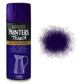 Rust-Oleum Painter's Touch Purple Gloss Spray Paint 400ml